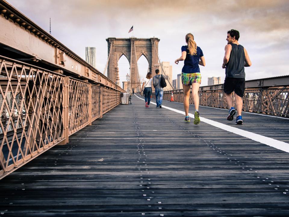 Commencer sa journée : Courir 20 minutes